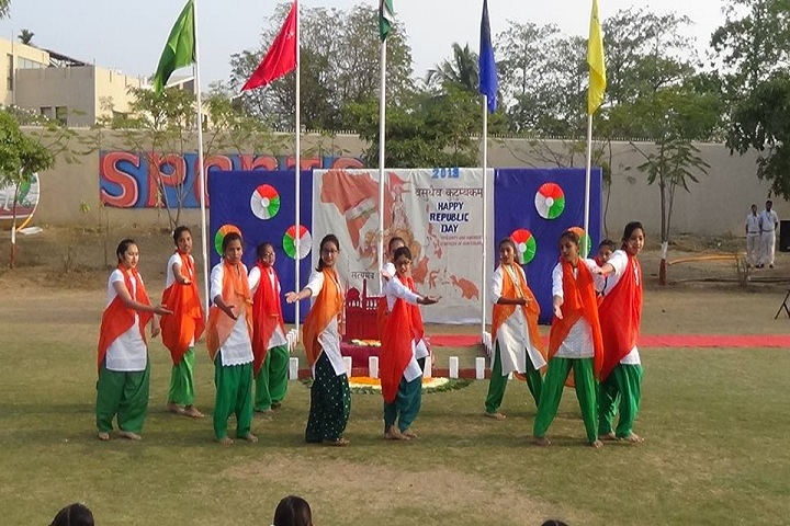 Shreevallabh Sanskar Dhams Smt. Shobhaben Pratapbhai Patel Day Boarding School-Republic Day Celebration