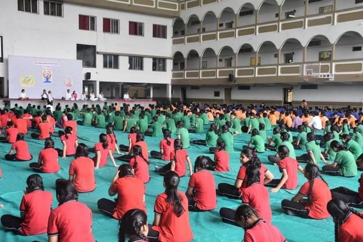 Shreeya Devi Bhagirath Rathi Maheshwari Vidyapeeth-Yoga