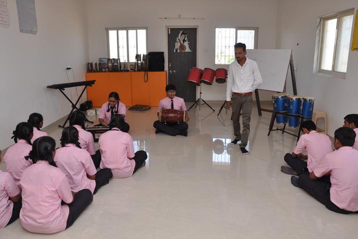 Shri Laxminarayan Vidya Prathishthan-Music Room