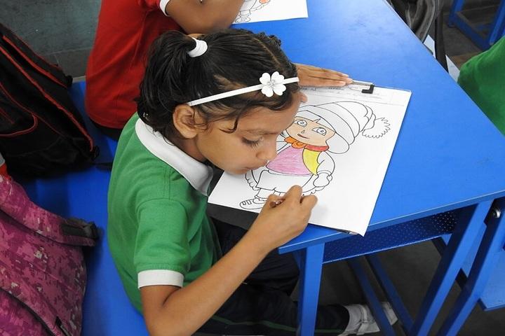 Shri O P Jindal Vidya Niketan-Drawing Competition