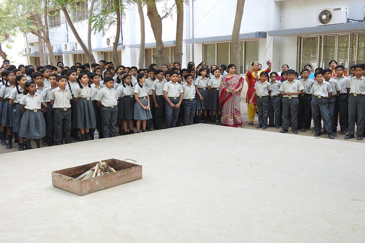 Shri O P Jindal Vidya Niketan-Fire Service Week