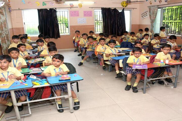 Shri Ramkrishna HariKrishna Academy-Classroom Activity