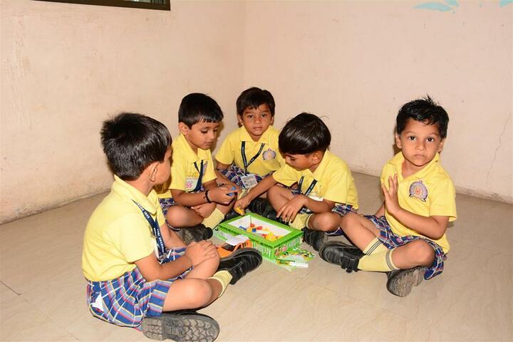 Shri Ramkrishna HariKrishna Academy-Maths Activity
