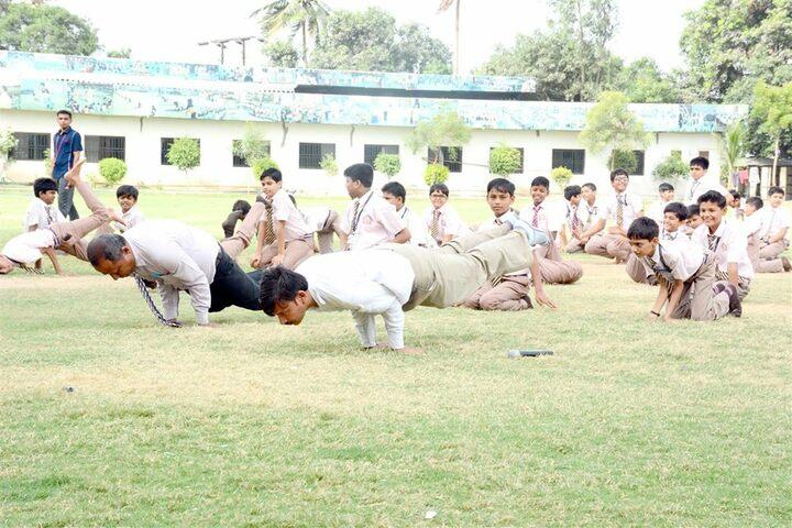 Shri Ramkrishna HariKrishna Academy-Yoga Day