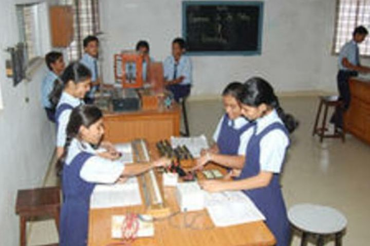 Shri L G Haria Multipurpose School-Biology Lab