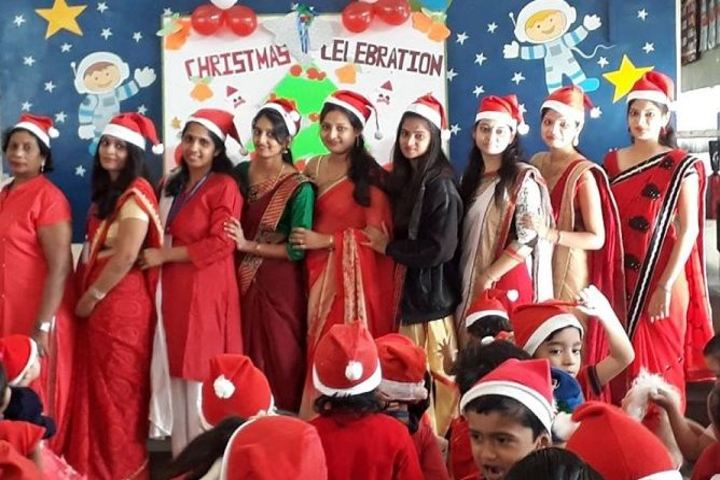 Shri L G Haria Multipurpose School-Christmas Celabrations