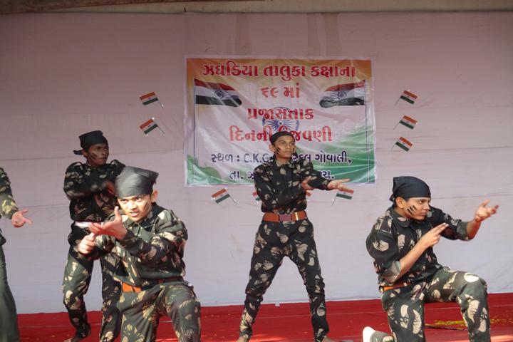 Champakali Kheruka Gyanjoti High School-Independence Day