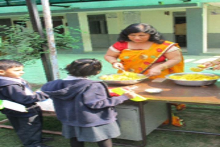 Champakali Kheruka Gyanjoti High School-Vasanth Panchami