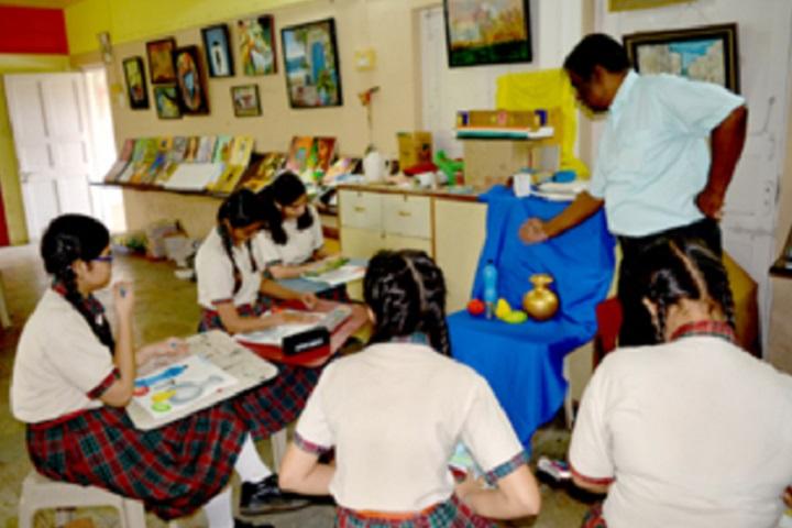 Smt Sandraben Shroff Gnyan Dham School-Art Studio