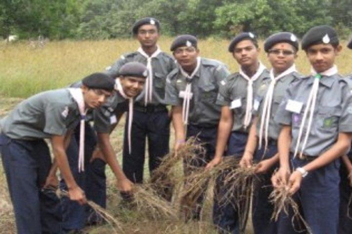 Smt Shardaben Raman Bhai Patel English Med School-NCC Camp