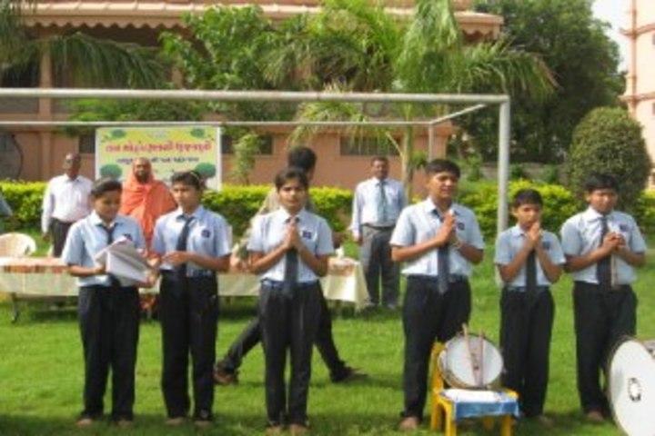 Smt Shardaben Raman Bhai Patel English Med School-Morning Assembly