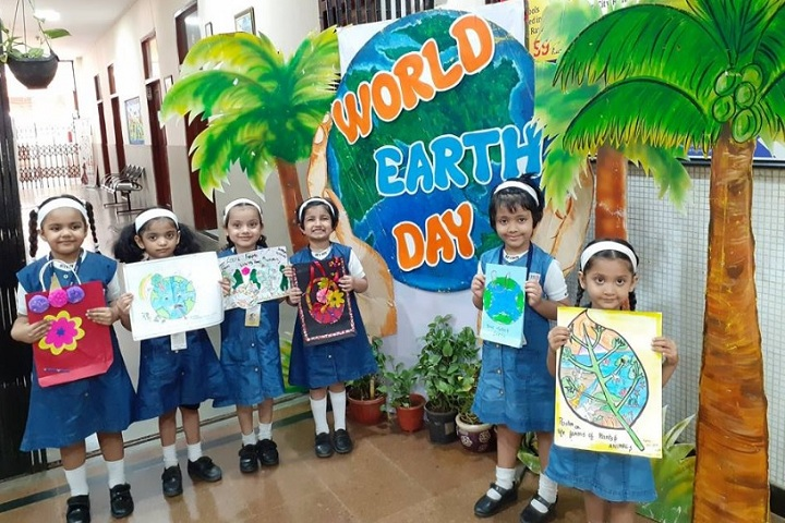 St Xaviers High School-Earth  day
