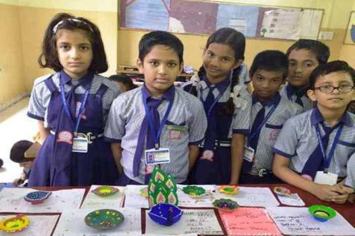 St Thomas English Medium School-Diya Making