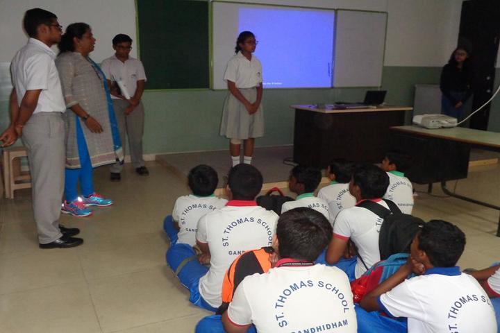 St Thomas School-Digital Classroom