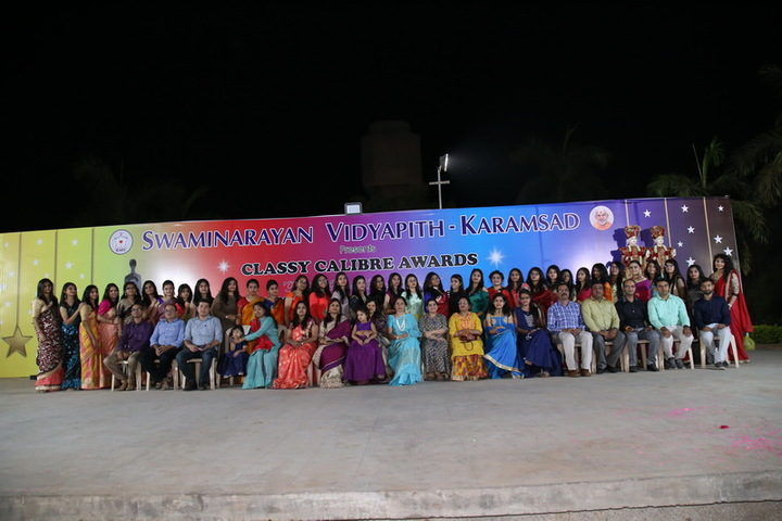 Swaminarayan Vidyapith-Farewell