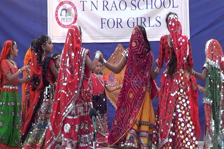 T N Rao School For Girls-Dancing Activity