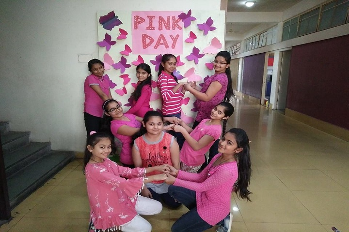 Tanna English Medium School-Pink Day