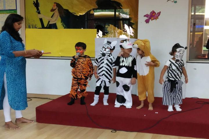 Tapti Valley International School-Animal Day