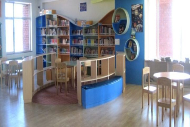 Tapti Valley International School-Library