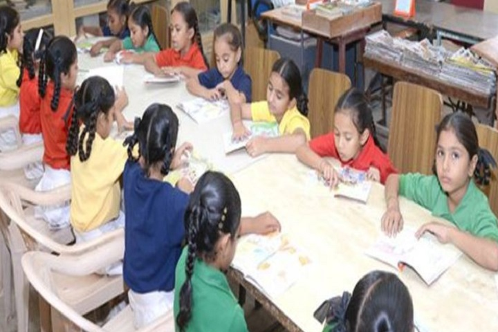 Tata Chem DAV  Public School-Library