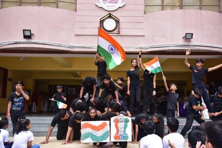 The H B Kapadia New High School-Independence Day Celebration
