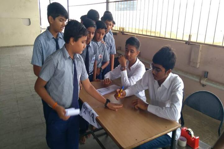 The H B Kapadia New High School-School Elections