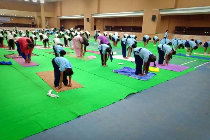 The H B Kapadia New High School-Yoga Day
