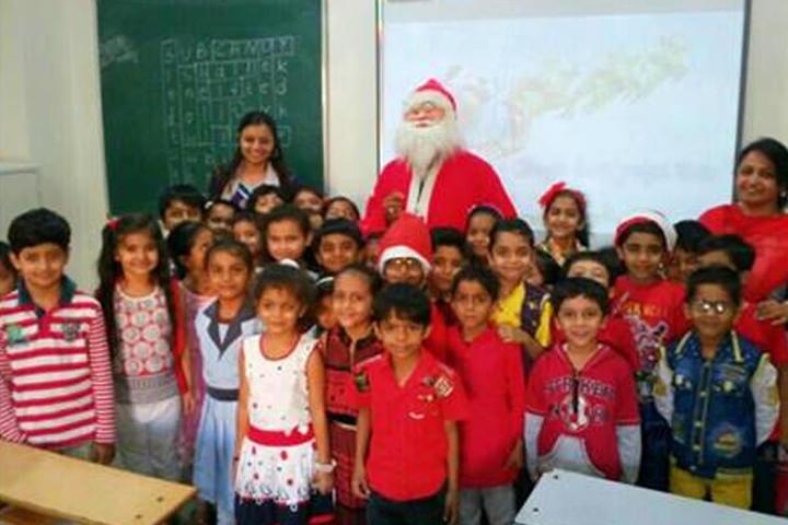 The H B Kapadia New High School-Christmas Celebrations