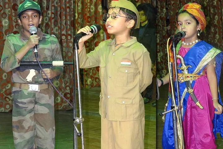The New Tulip International School-Singing Competition