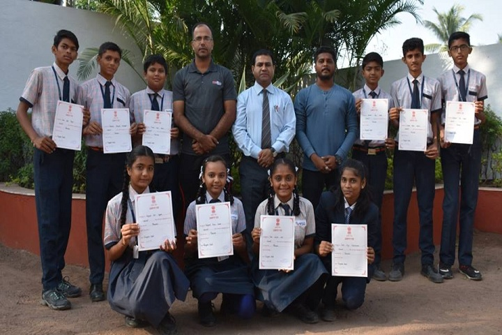 V S G International School-Achievements