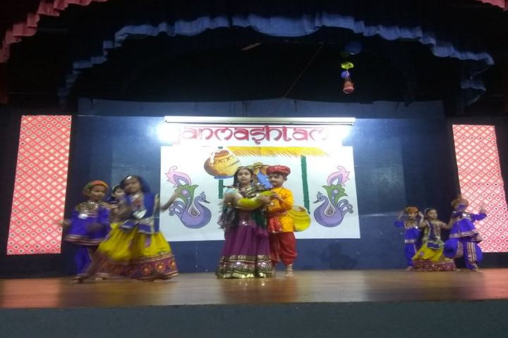 Vallabh Ashrams M G M Amin And V N Savani School-Festival Celabrations