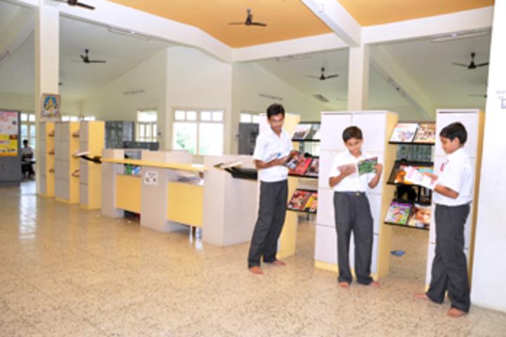 Vallabh Ashrams M G M Amin And V N Savani School-Library