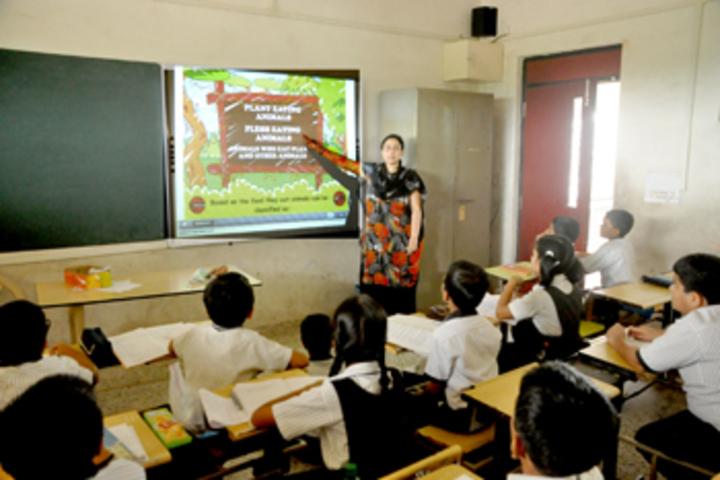 Vallabh Ashrams M G M Amin And V N Savani School-Smart Classroom
