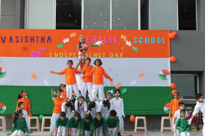 Vasishtha Genesis School-Independence Day