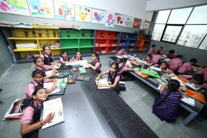 Vasishtha Genesis School-Drawing Activity