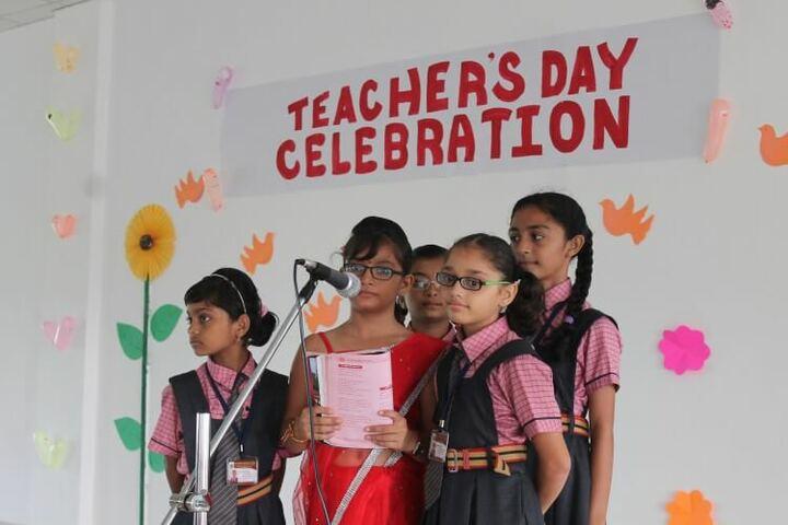 Vasishtha Genesis School-Teachers Day Celebration