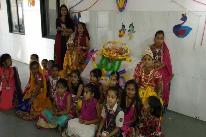 Vedant International School-Janmastami Celebrations