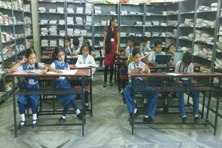 Vidya Dham International School-Library
