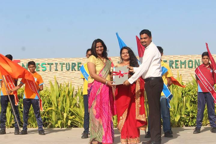 Vinay International School-Investiture Ceremony