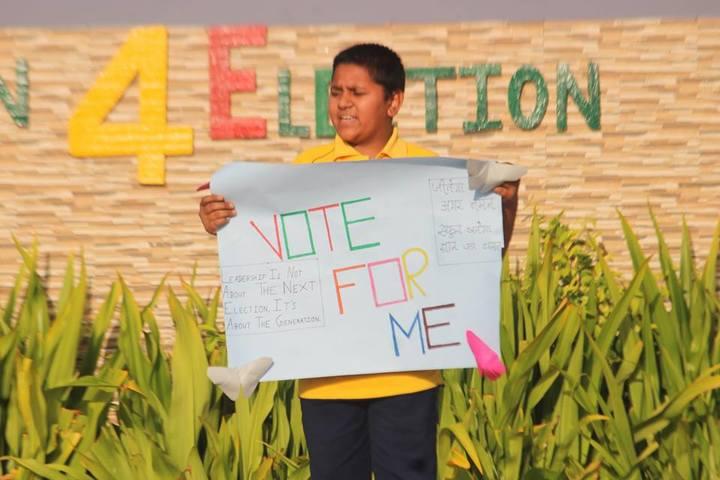 Vinay International School-School Elections