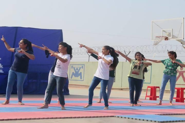 Vishwa Bharti Girls International School-Dancing Activity