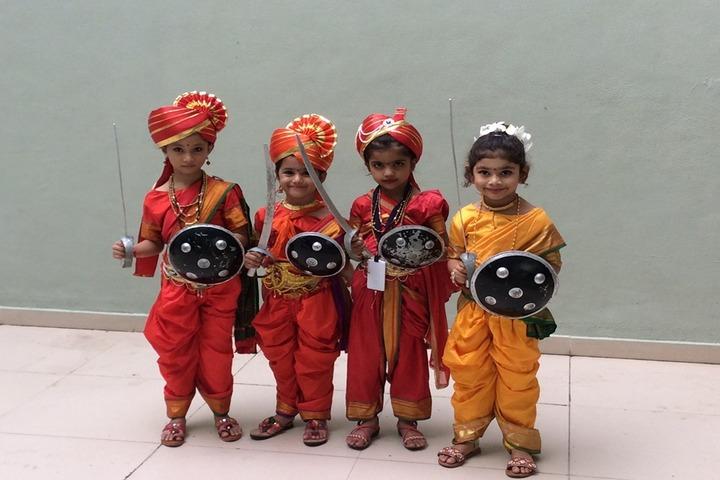 Vishwa Bharti Girls International School-Fancy Dress Competition