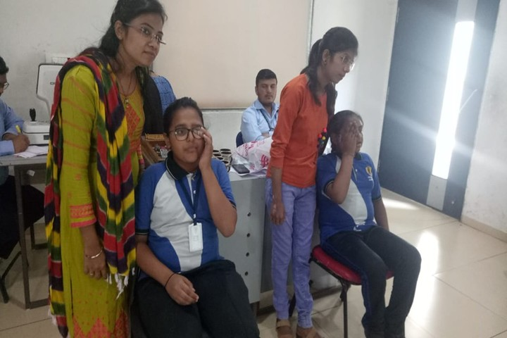 Vishwa Bharti Girls International School-Medical Checkup