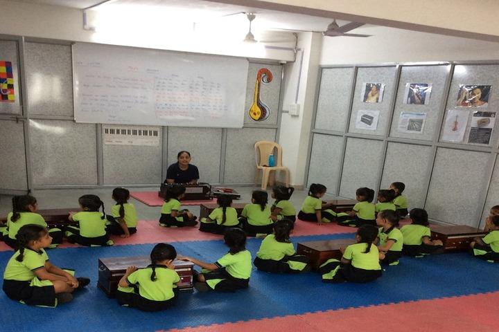 Vishwa Bharti Girls International School-Music Room