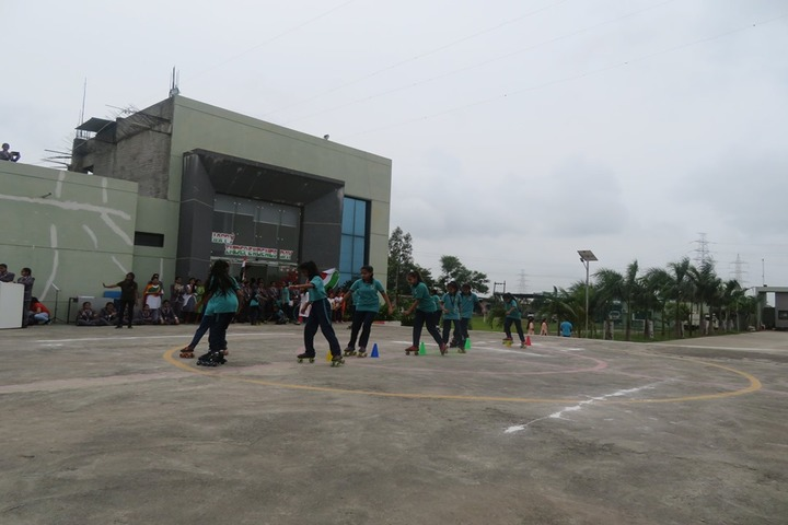 Vishwa Bharti Girls International School-Skating Activity