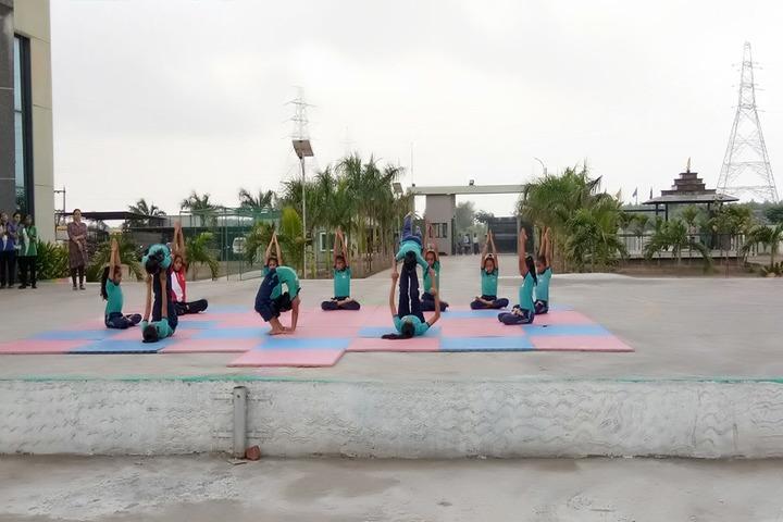Vishwa Bharti Girls International School-Yoga Day