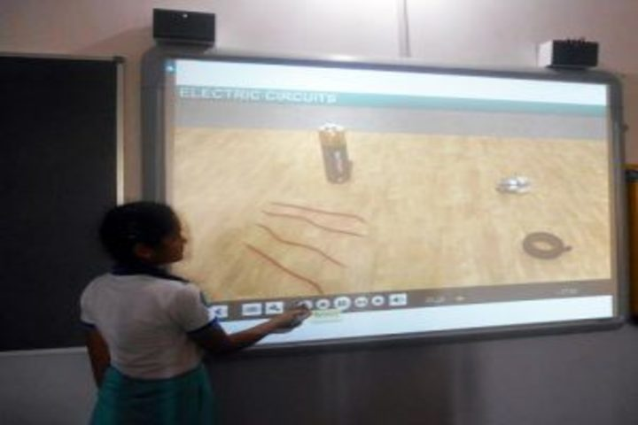 Vision International School Of Excellence-Smart Classroom