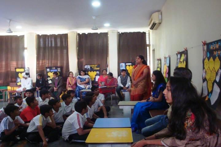 Vrajbhoomi International School-Bool Fair