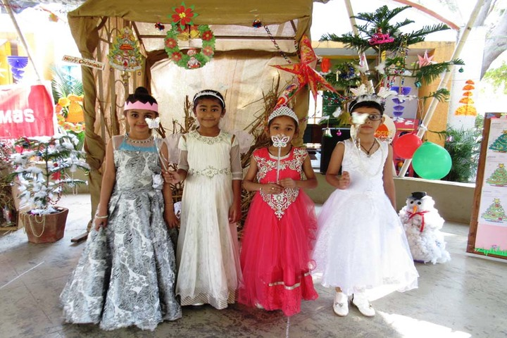 Vrajbhoomi International School-Christmas Celebrations