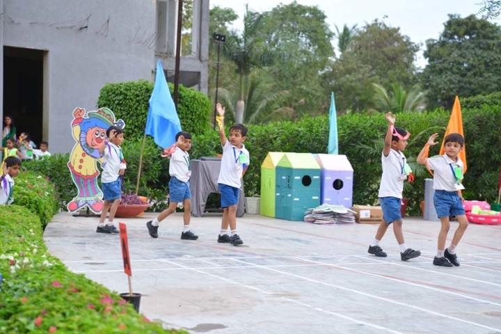 Vrajbhoomi International School-Dancing Activity